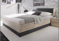 Bett 140×200 Holz Weis