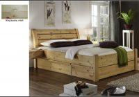 Bett 140×200 Kiefer Gelaugt