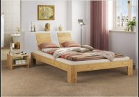 Bett 140×200 Kiefer Massiv Mit Lattenrollrost