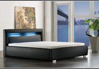 Bett 140×200 Mit Matratze Und Lattenrost Schwarz