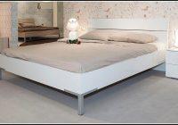 Bett 140×200 Weiß