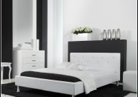 Bett 140×200 Weis Hochglanz