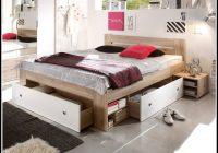 Bett 140×200 Weis Mit Schubladen