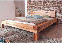 Bett 160×200 Holz Massiv
