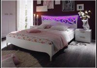 Bett 160×200 Weiss Hochglanz
