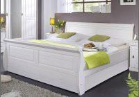 Bett 180×200 Weiss Holz