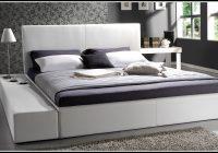 Bett 200×200 Weis Bettkasten