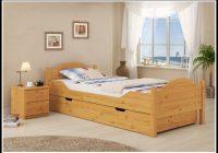 Bett 90×200 Mit Bettkasten Buche