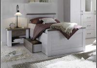 Bett 90×200 Weis Gebraucht