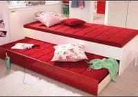Bett 90×200 Weis Hochglanz