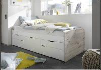 Bett 90×200 Weis Mit Stauraum