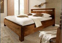 Bett Holz Massiv 180×200