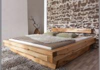 Bett Holzbalken Selber Bauen