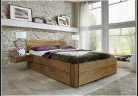 Bett Komforthohe Holz