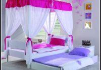 Bett Mit Himmel 90×200