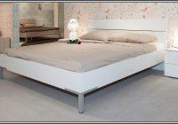 Bett Schwarz 140×200 Holz