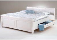 Bett Weiß 140×200