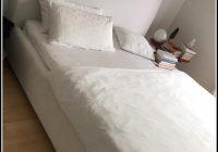Bett Weiß 140×200 Gebraucht
