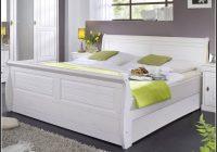 Bett Weiß 140×200 Holz
