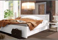 Bett Weiß 140×200 Landhausstil