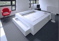 Bett Weiß 180×200 Bettkasten