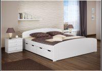Bett Weiß 180×200 Holz