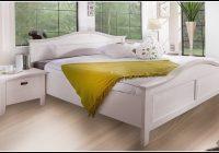 Bett Weiß 180×200 Landhaus