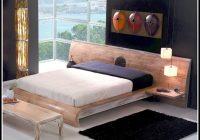 Bett Weis 200×200 Holz