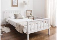 Bett Weiß 90×200 Holz