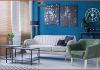Bilder Blau Wohnzimmer