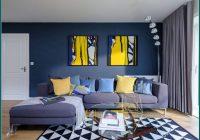 Blaues Wohnzimmer Ideen