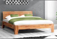 Buche Massiv Bett 140×200