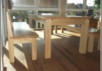 Esszimmerbank Mit Lehne Holz