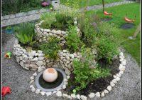 Garten Steine Gestalten