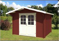 Gartenhaus 2x2m 28mm