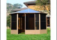 Gartenhaus Alu Dach