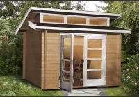 Gartenhaus Avantgarde Weka