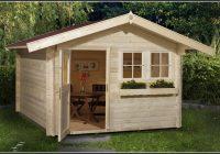 Gartenhaus Bausatz Holz