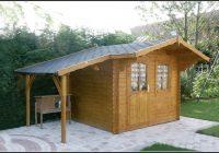 Gartenhaus Blockhaus Lux
