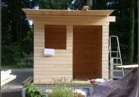 Gartenhaus Dach Renovieren