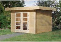 Gartenhaus Flachdach Selber Bauen