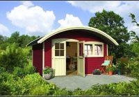 Gartenhaus Friedland 2 Kastanienrot