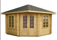 Gartenhaus Holz 5 Eckig