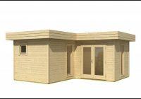 Gartenhaus Holz 5x5m
