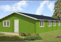 Gartenhaus Holz 70mm