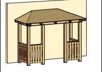 Gartenhaus Holz Walmdach