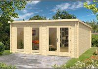 Gartenhaus Kubus Mini