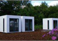 Gartenhaus Kubus Modern