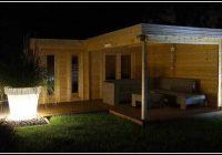 Gartenhaus L Form