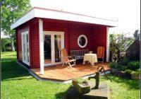 Gartenhaus Mit Abstellraum Und Terrasse